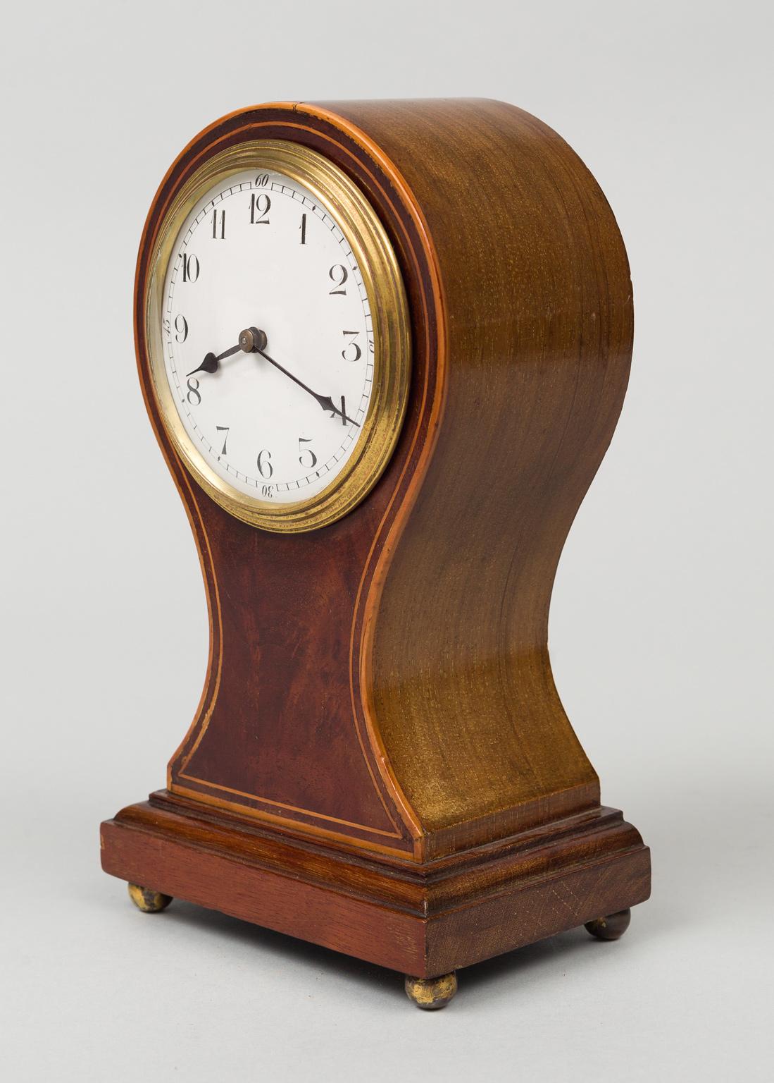 BalloonShaped Desk Clock Circa 1900