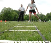 Agility drills for ACL injury, ladder exercise