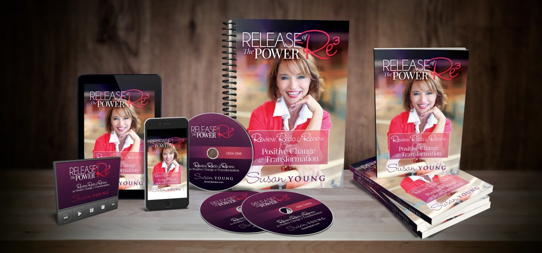Release the Power of Re3: Review, Redo & Renew for Positive Change & Transformation book by Speaker Susan Young