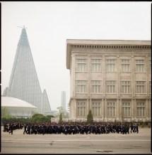Interior Ryugyong Hotel Pyongyang North Korea