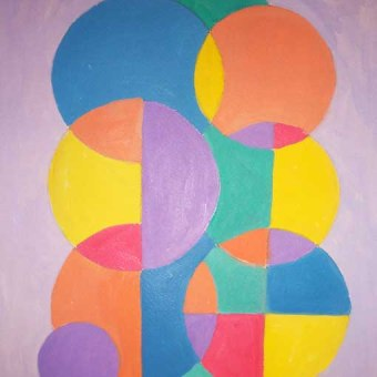Color Wheel Circles, Demo 3