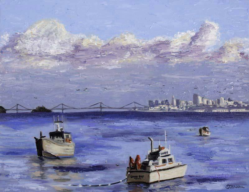 Herring Boats Print