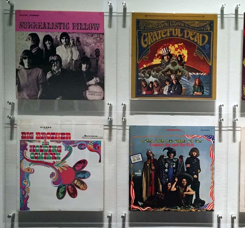 Album Covers, Summer of Love Exhibit