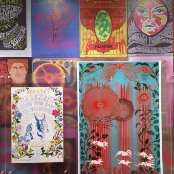 Iron Butterfly Poster Display, Summer of Love Exhibit