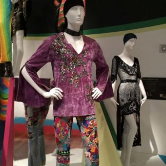Patched Jeans Fashions, Summer of Love Exhibit