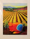 Wine Country Cat 1, by Susan Sternau, giclee print front
