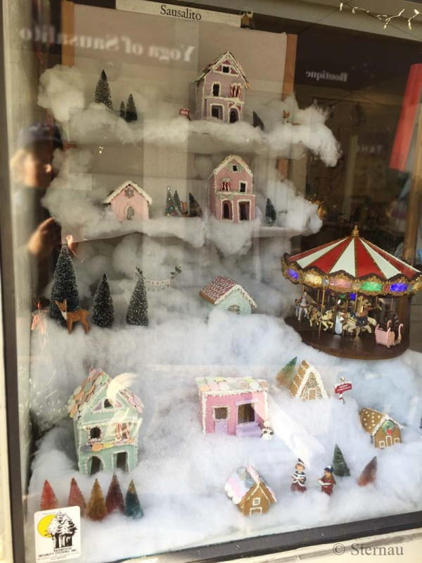Sausalito Stationery, Gingerbread Town