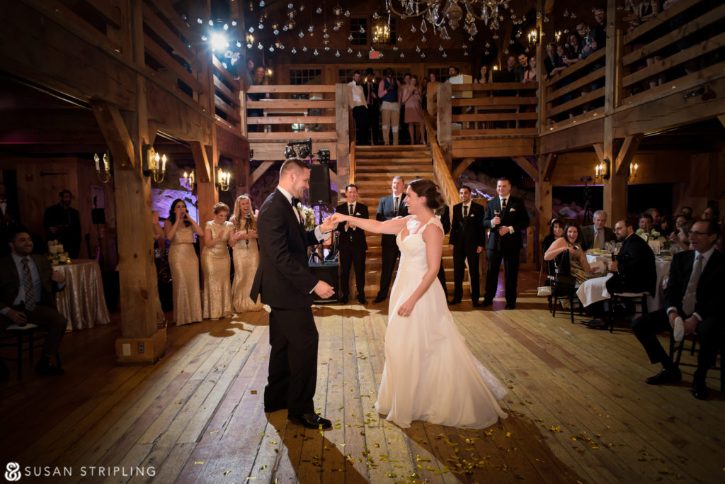New Years Eve Wedding At The Red Lion Inn