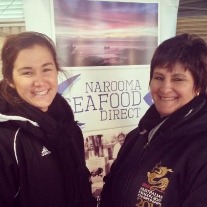 Vicki and Hayley Abbott, Narooma Seafood