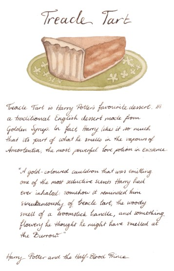 'Treacle Tart' by Erin-Claire Illustrations