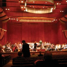 David Geffen Hall (formerly Avery Fisher Hall), Music for Life Rehearsal, Lincoln Center