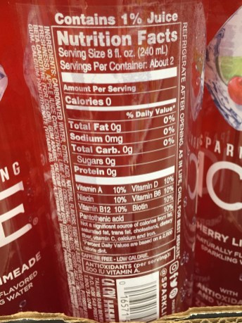 Sparkling Ice Nutrition Label : sparkling, nutrition, label, Healthy, Waters, You're, Drinking?, Learn, Drink, Labels!, Susan, Tikson, General, Dentistry