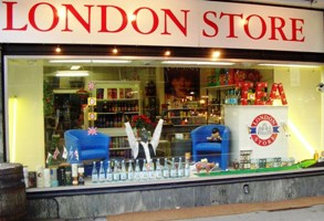 Zug's Londonstore specializes in British favorites.