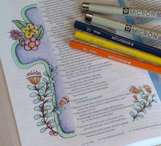 Bible Art Journaling Monthly