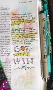 Bible Art journaling with Susan Walker Art