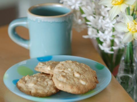 """""""Warm cookies and cold milk are good for you."""" --Robert Fulghum"""