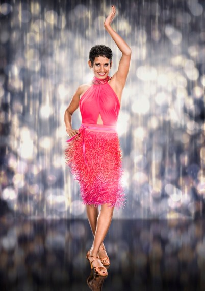 WARNING: Embargoed for publication until 00:00:01 on 01/09/2016 - Programme Name: Strictly Come Dancing 2016 - TX: 01/09/2016 - Episode: n/a (No. n/a) - Picture Shows: ** UNDER STRICT EMBARGO UNTIL THURSDAY 1 SEPTEMBER @ 00.01 ** Naga Munchetty - (C) BBC - Photographer: Jay Brooks