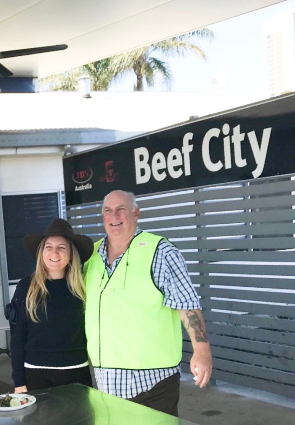 Susete Estrela at Beef City - JBS Australia
