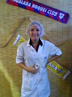Susete Estrela - Food Safety Expert for the Big Gastronomic Event (Tasquinhas) In Caldas da Rainha, August 2004