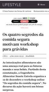 Workshop para grávidas Susete Estrela. SAPO Lifestyle