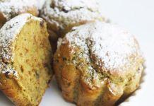 muffin al tè matcha e cioccolato