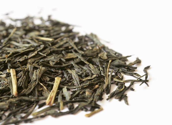 foglie di tè sencha