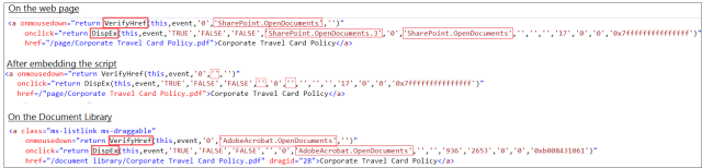 SharePoint OpenDocuments Class Script