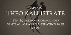 Captain Theo Kallistrate
