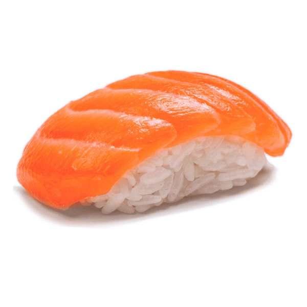 Суши с обычным лососем