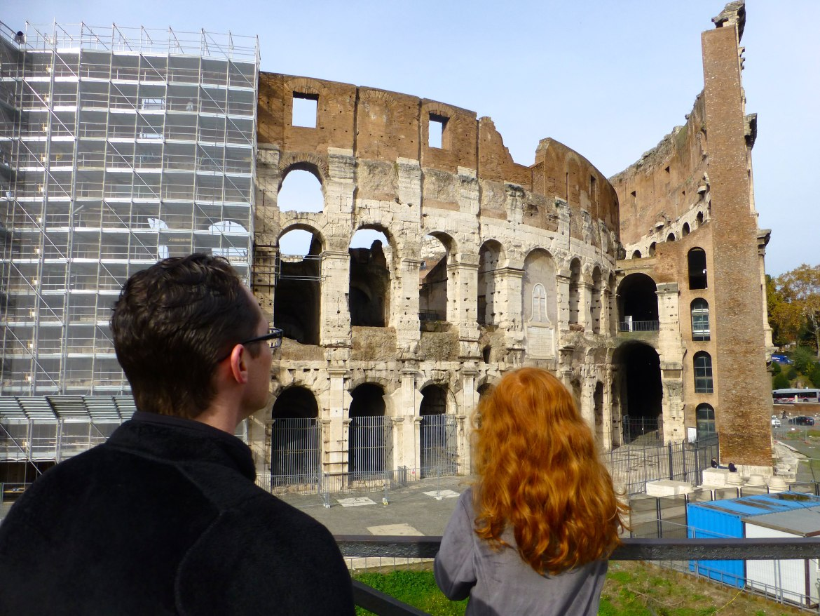 Marvel at the Colosseum in Rome Italy