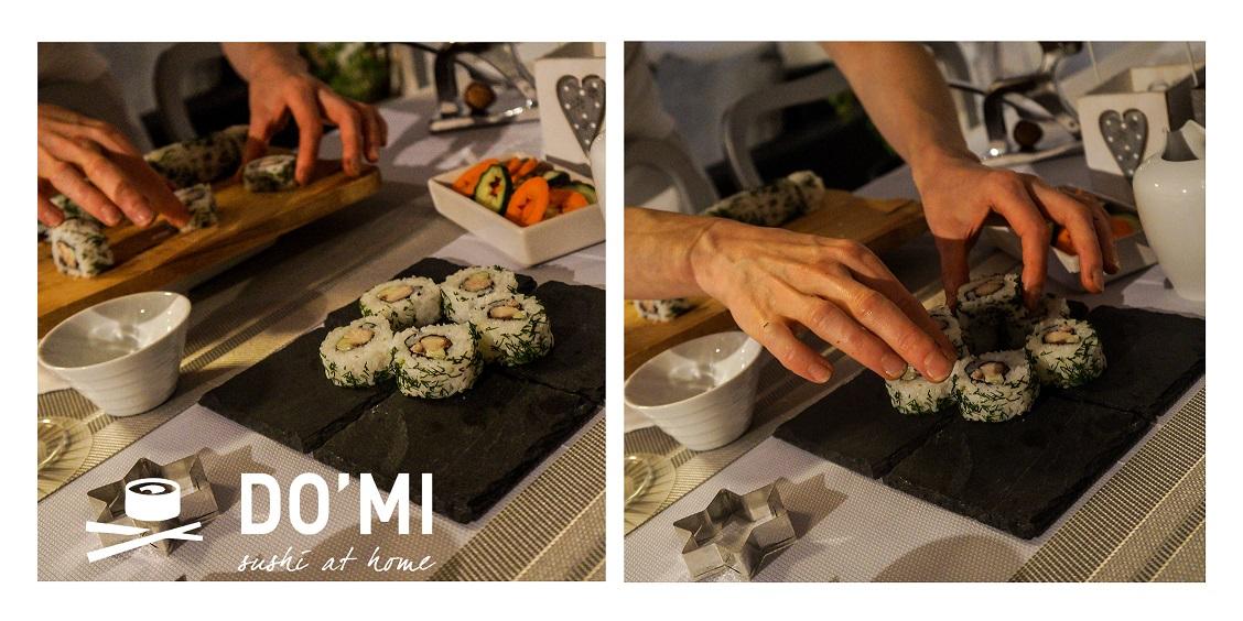 Sushi choinka
