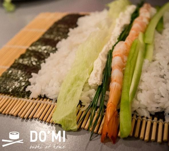 Sushi z warzywami