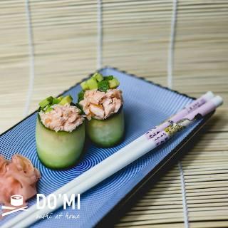 Gunkan sushi z ogórka