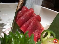 maguro (tuna back) sashimi