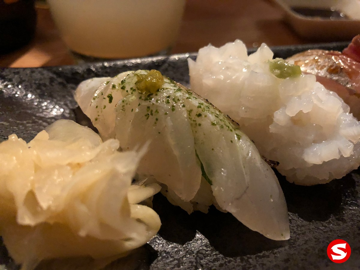 tai (sea bream) nigiri