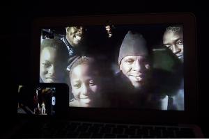 Skype with Ugandan kids
