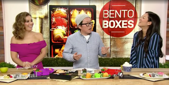 Character Bento Boxes with Chef Sang and the hosts, Mel and Lainey