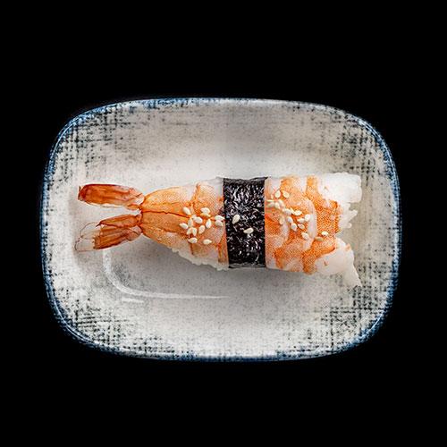 sushi hiidkrevett