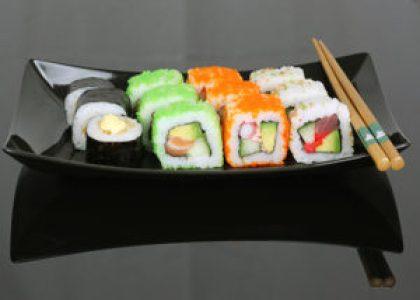 SushiTime California lovers menu met 12 heerlijke California rolls