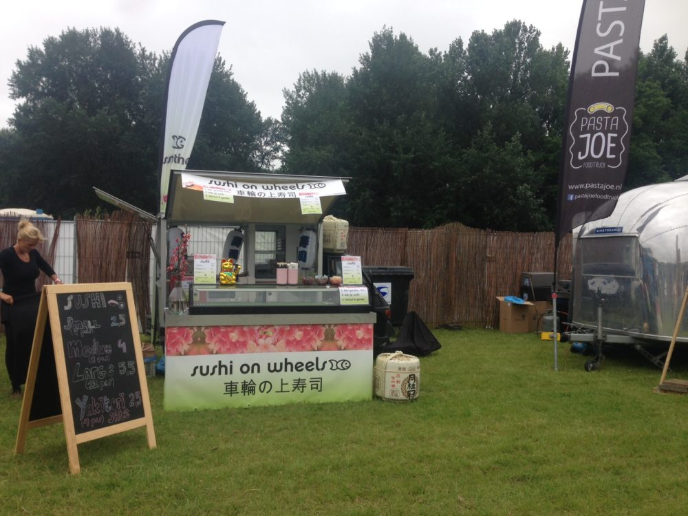 SushiTime@ A Day At the park vanuit de foodtruck