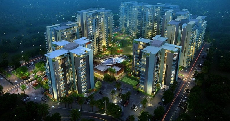 Sushma Chandigarh Grande 3/4 BHK Flats Apartments in Zirakpur