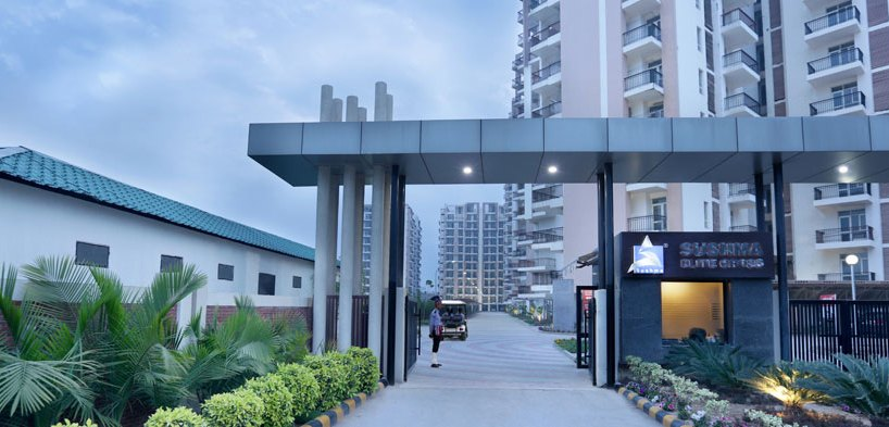 Sushma Elite Cross 3 BHK Flats/Apartments in Zirakpur