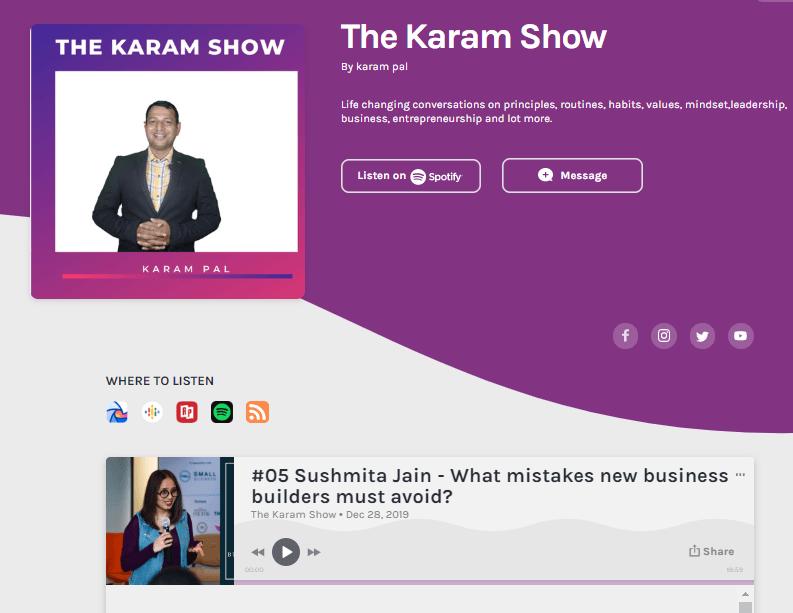 The Karam Show