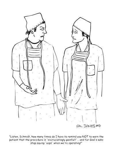 Humor: Actual EMR Documentation