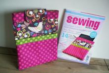 iPad Sleeve designed by SusieDDesigns Sewing World Feature