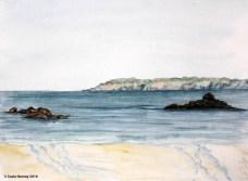 Sark from Shell Beach