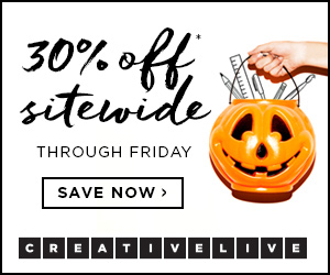 Creative Live Halloween Sale!!