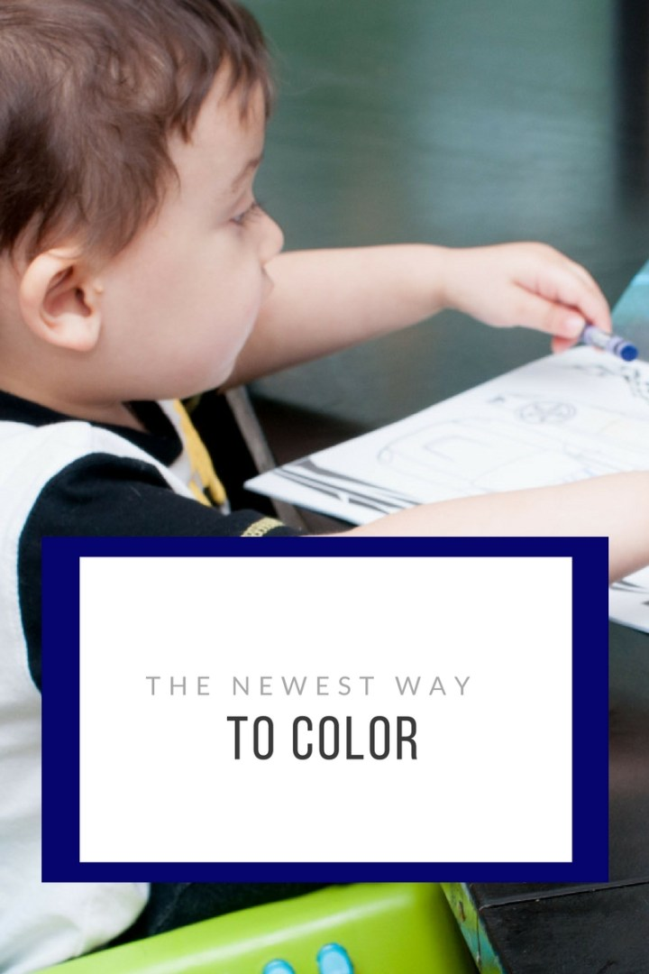 The newest way to color!