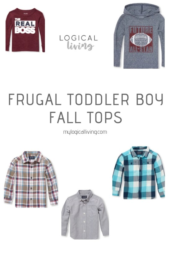 Frugal Toddler Boy Fall Tops