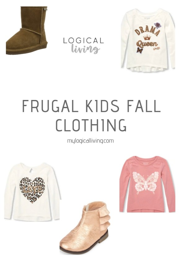 frugal fall kid clothing